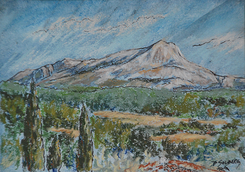 Cezanne's Mountain - Mt. Sainte Victoire
