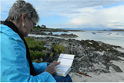 Barbara Solberg - Sketching in Orkney