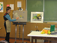 Pastel Workshop demonstration